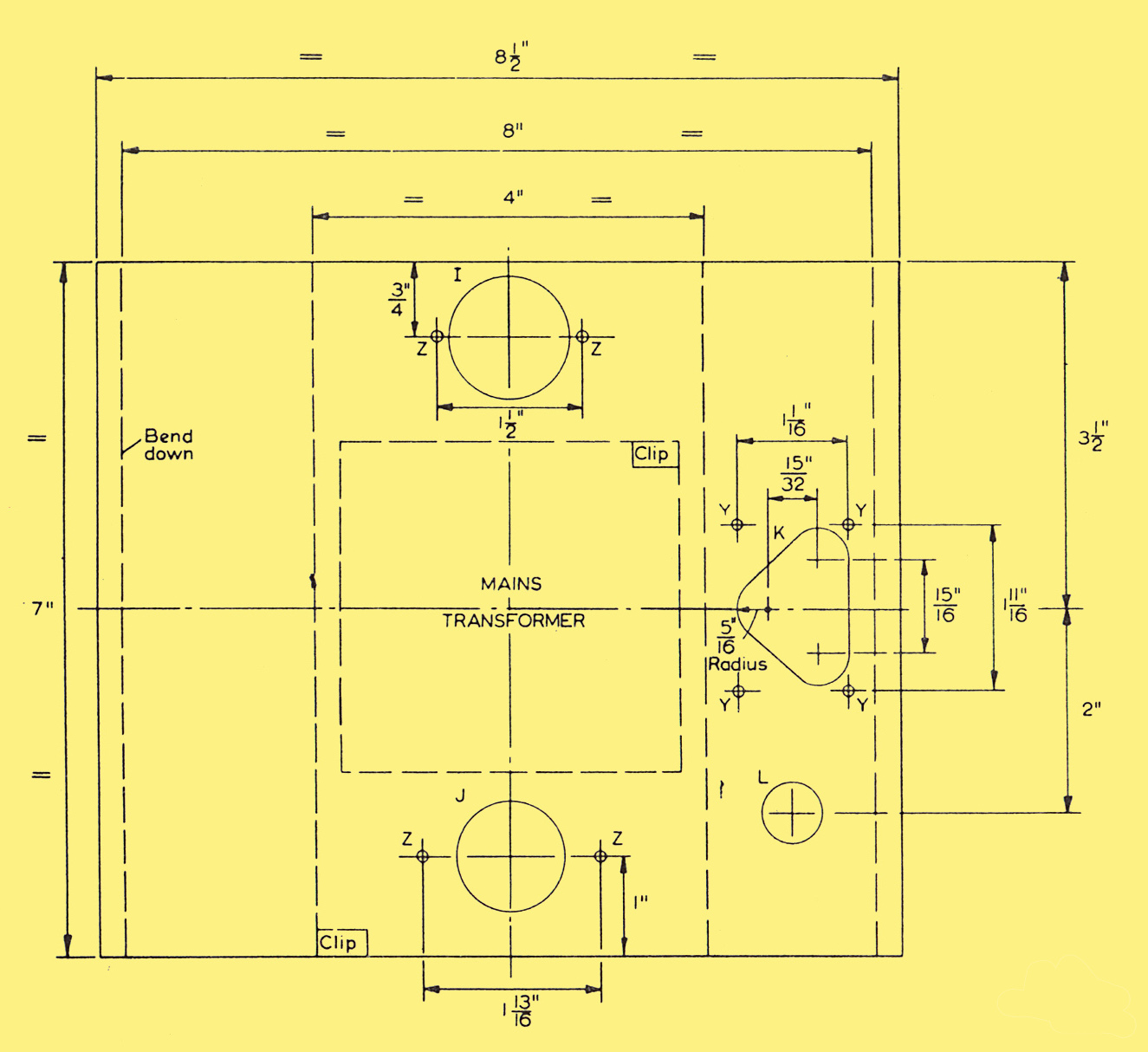 Ten Watt High Quality Stereophonic Amplifier 5 Circuit Diagram Power Supply Chassis With And Without Controls
