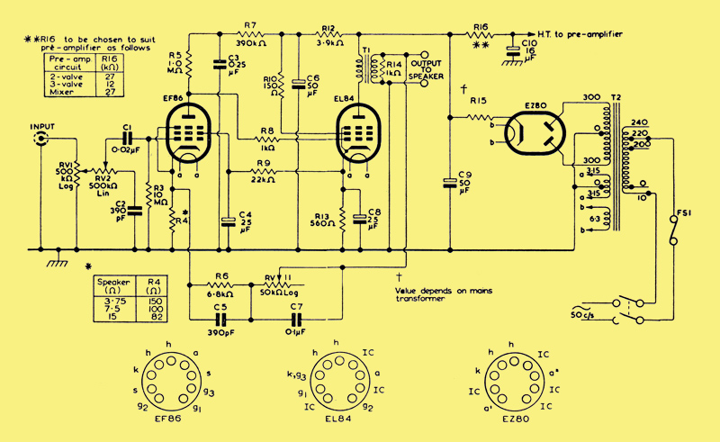 Art 003h on vacuum tube circuits
