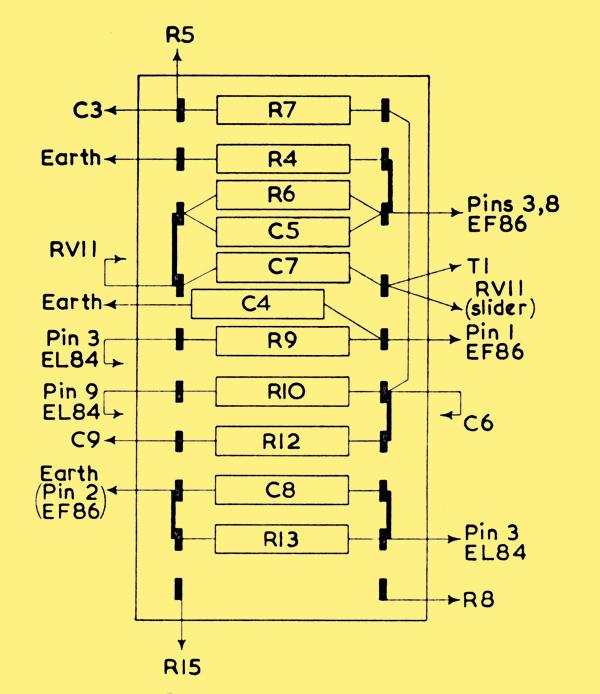 Cl A Amplifier Circuit Diagram   Mullard 3 3 Three Watt Amplifier