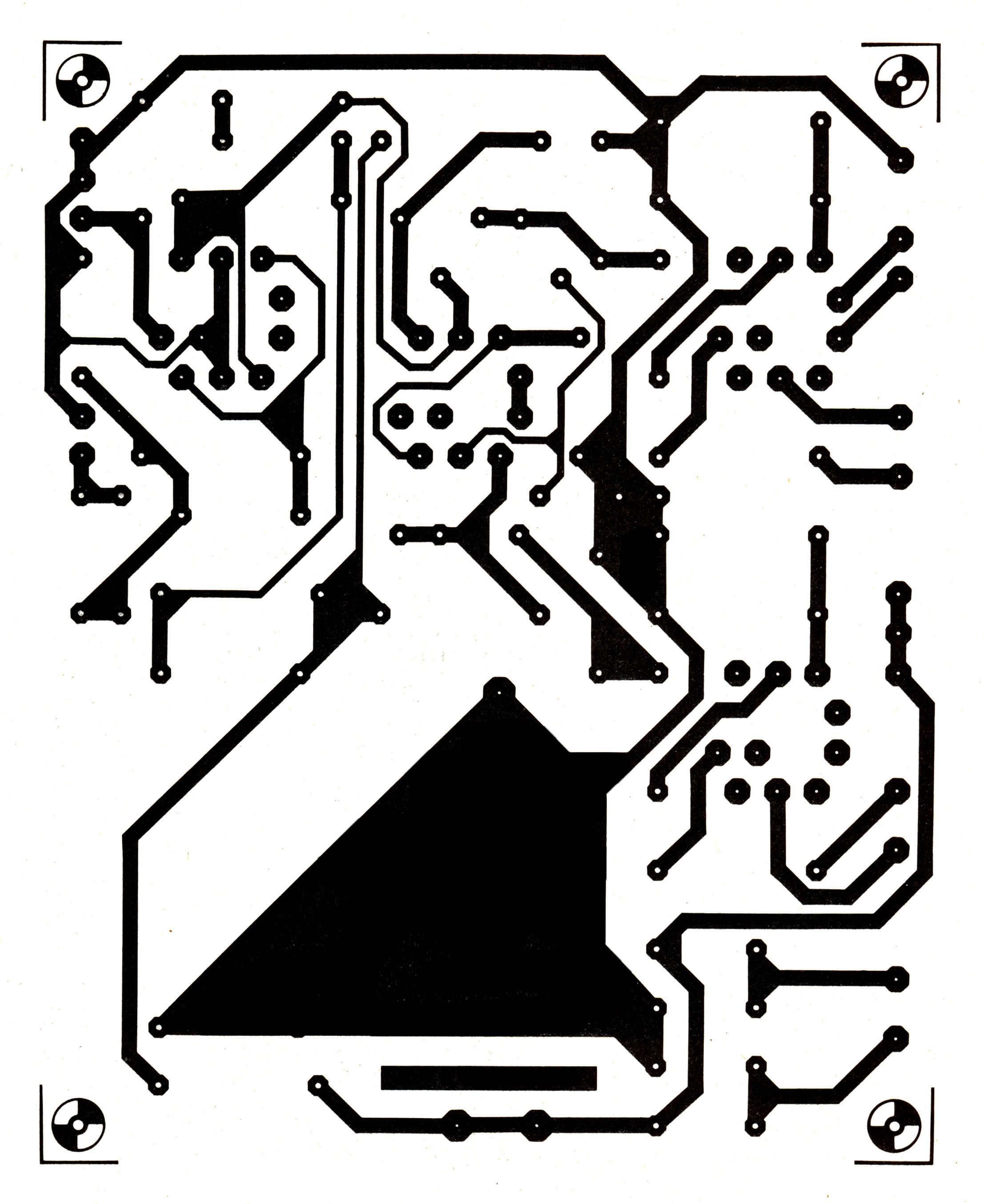 elektor  ten watt valve amplifier with just four valves