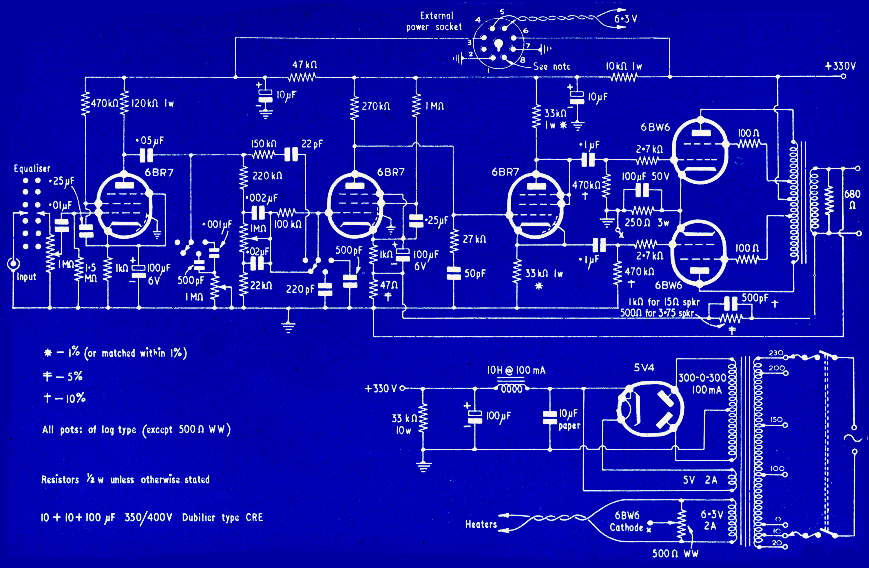 Old Fashioned Circuit Blueprint Ornament - Electrical Diagram Ideas ...