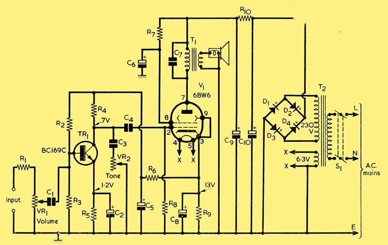 hybrid audio amplifier valve amplifier design your own vacuum tube audio