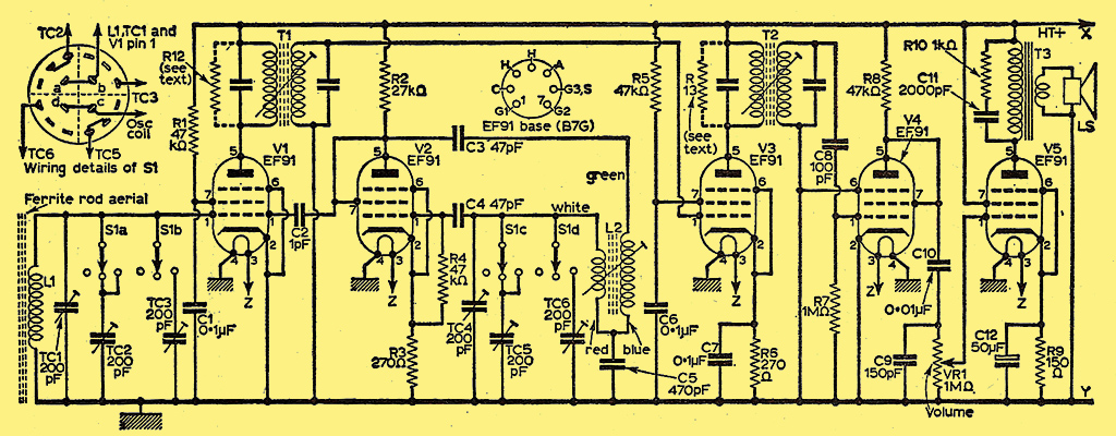 Arris F210 Racing Drones Kit furthermore W5DOR MiscSchematics further Art 148 further Receiver Circuit Schematic besides Nmr Spectroscopy 13887430. on tube radio transmitter