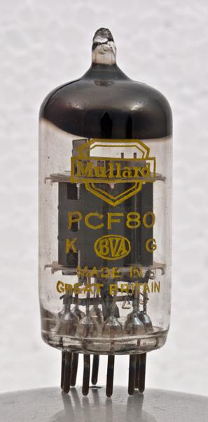 1 PCF80 Mullard